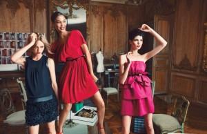 Black dress, pink dress $139, Red Dress $99