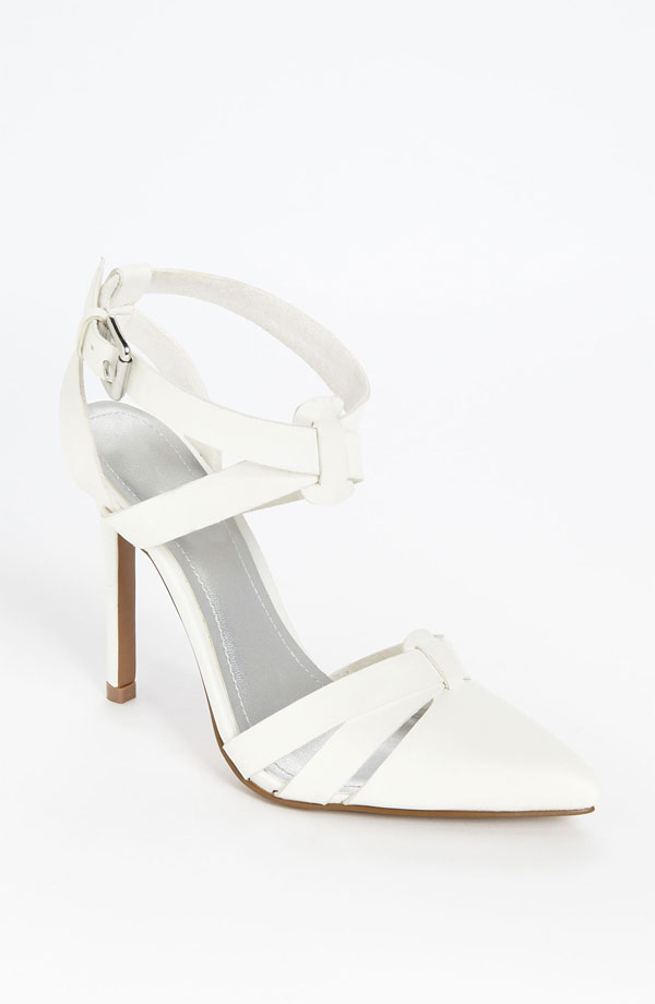 white heels spring 2013