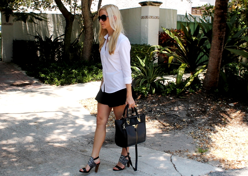 zara skirt miami blogger