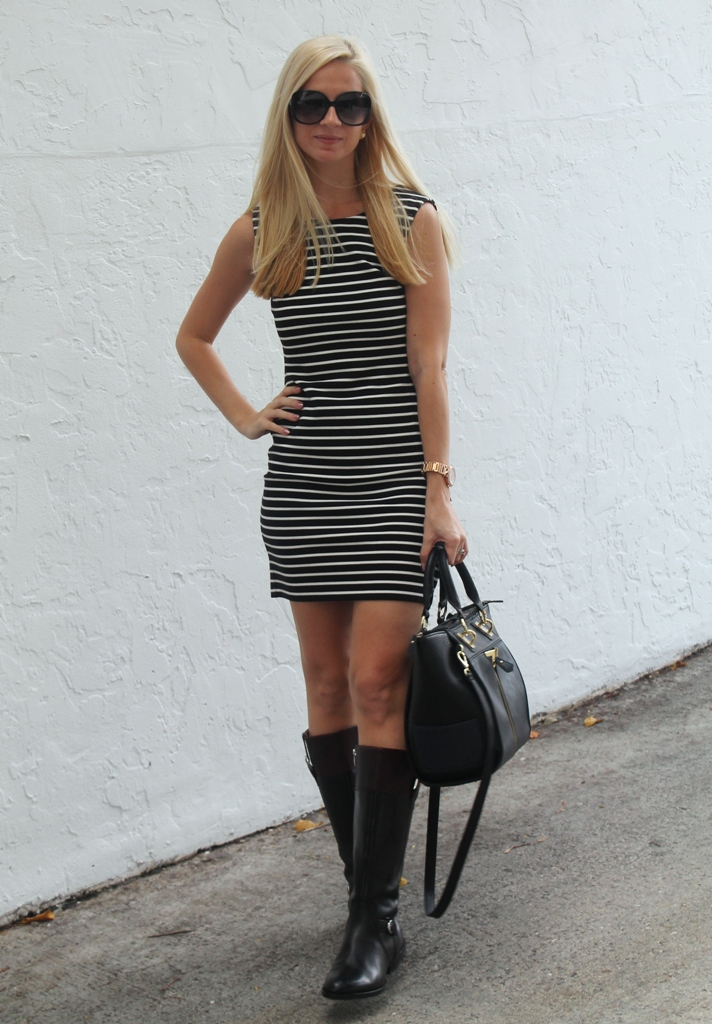 Riding Boots and Short Dresses Make the Perfect Fall Pair | BLAH ...