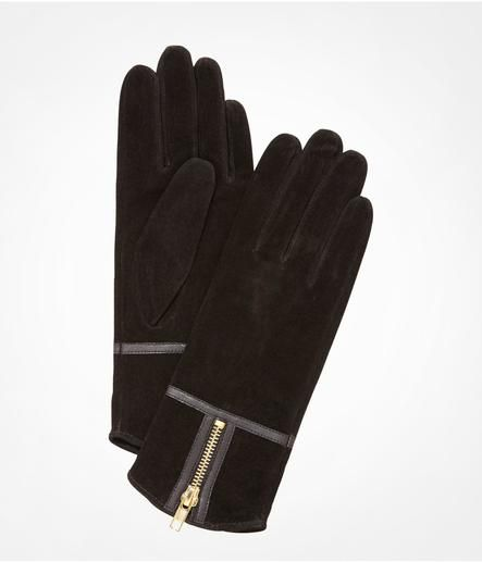 suede gloves express