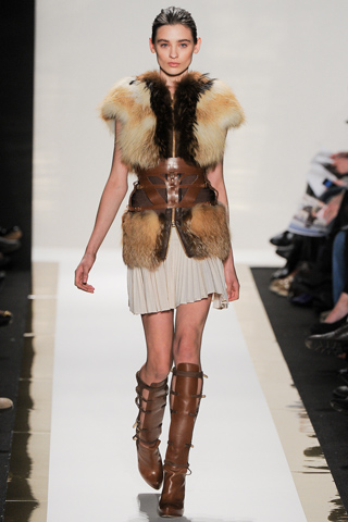herve leger harness fall winter 2012