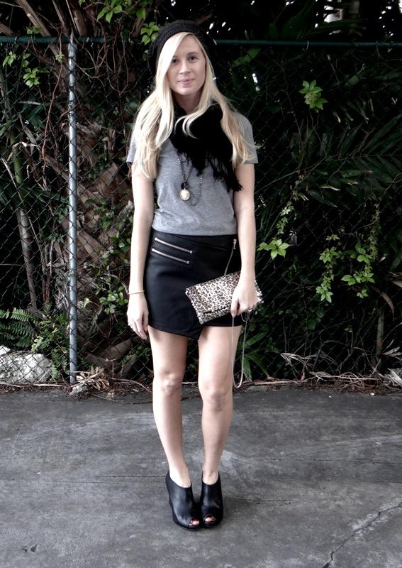 stylestalker zippered skirt